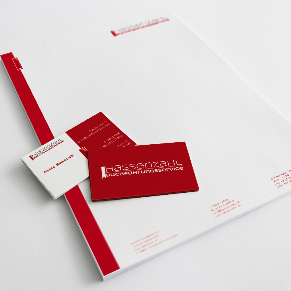 Hassenzahl Corporate Design / Print & Design