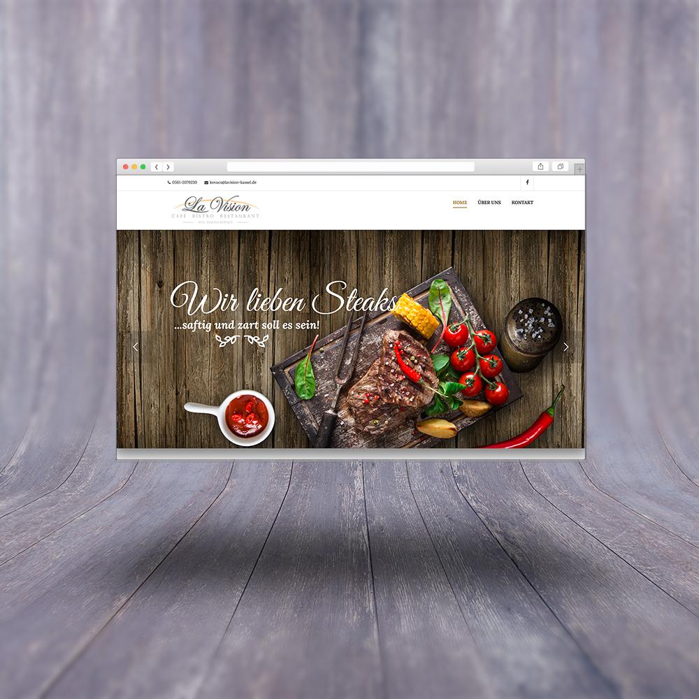 La Vision Responsive Website / Design & Umsetzung